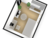 目的別ワンルーム6畳間の家具の配置・コーディネート案!